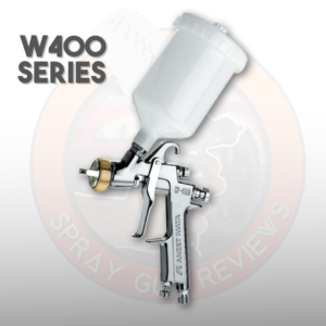 Anest Iwata W400 Bellaria Spray Gun Review